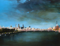 2013: Painting the Thames, London