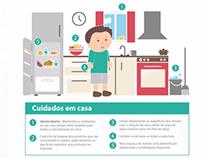 Ilustrações Informativo - H1N1