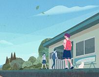 『京都産業大学ブランディングポスター 6月』