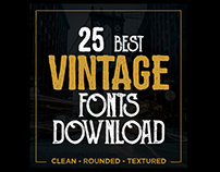 Best Vintage Fonts Download