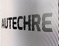 Autechre - Confield | CD Cover Design