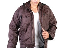 Waterproof Fur Jacket for men by FashioninVogue
