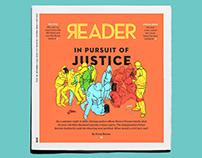 Various Chicago Reader Illustrations