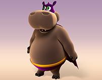Pópo the Hippo