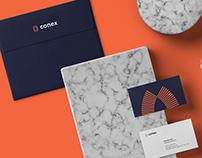 Conex Developments Brand Identity