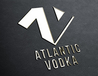 Visual identity for ATLANTIC VODKA - Student project