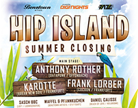 Hip Island Summer Closing 2013 Poster