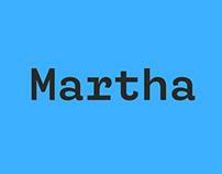 Martha | Retail Typeface