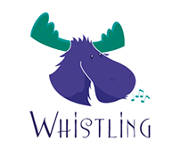 Whistling Moose Logo Design