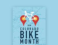 Colorado Bike Month Poster