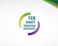 TEB Cash Management Academy Logo and Title Animation