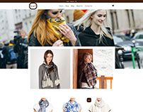 Scarf – Parallax Responsive Fashion Shop Shopify theme