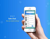Safe Chat - UI Concept