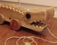Güiro Gator Pull Toy