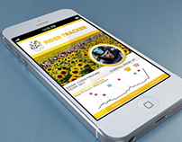 Tour de France Rider Tracker App