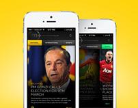 MaltaToday iOS UI App Concept
