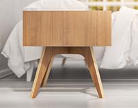 Bedside table H1