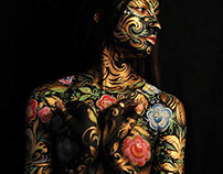 Bodypainting by Lana Chromium