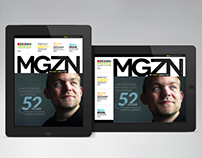 iPad/Tablet Magazine InDesign Layout 02