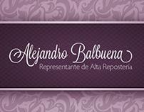 Sitio Web - Alejandro Balbuena