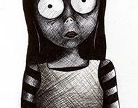 Creepy illustrations