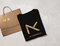 MK Comunica | Logotipo y materiales de marca