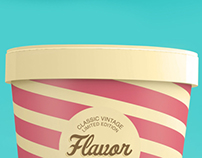 Flavor Ice Cream Packaging