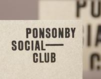 Ponsonby Social Club | Brand Identity