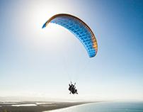 Wayne Roberts, Paraglider - UNO Magazine