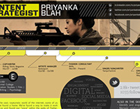 Priyanka Blah - Resume Design
