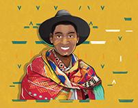 """My Portrait """"Ngisebenzela Lina"""" Samthing Soweto Tribute"""