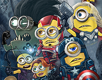 Earth's Mightiest Minions Age of Ultron Avengers