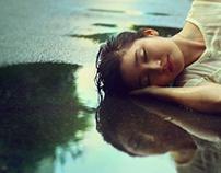 { IN THE RAIN }