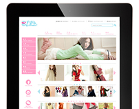 Web Design for East Village Fashion