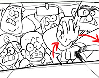 Storyboard: Gravity Falls Test