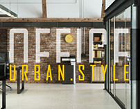 OFFICE - urban style Design & visualization By Myo.