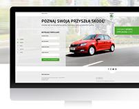 Skoda Oferta Specjalna - Landing Page Design