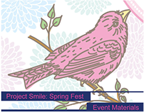Project Smile: Spring Fest | Event Materials
