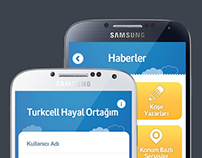 YGA-Turkcell My Dream Partner // iOS-Android App Design