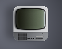 "ICON DESIGN ""BRAUN FS80 TV"""