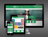 Responsive design website for the Ministry of Education