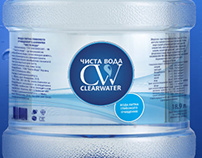 """Дизайн упаковки для """"Чистой  воды"""""""