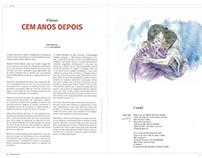 """Ilustração """"Fátima, cem anos depois"""""""