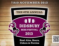 Didsbury Beer Festival Poster