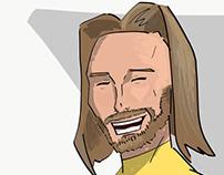 Drawing TikTokers as X-Men pt. 1: @damnitjonah