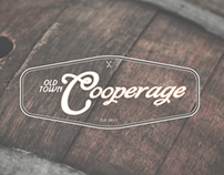 Old Town Cooperage Branding