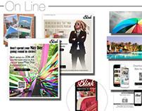 On line Material. Blink