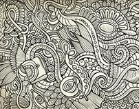 Doodle Female lifestyle