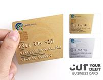 Cut You Debt Business Card