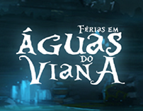 Ilustração de Águas do Viana